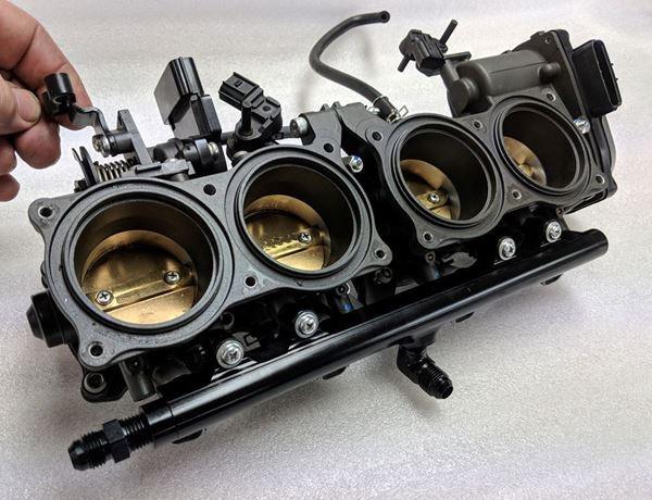 Ninja H2 lower fuel rail