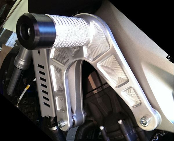 Picture of MT-09 (FZ-09) Crash Cages w/sliders