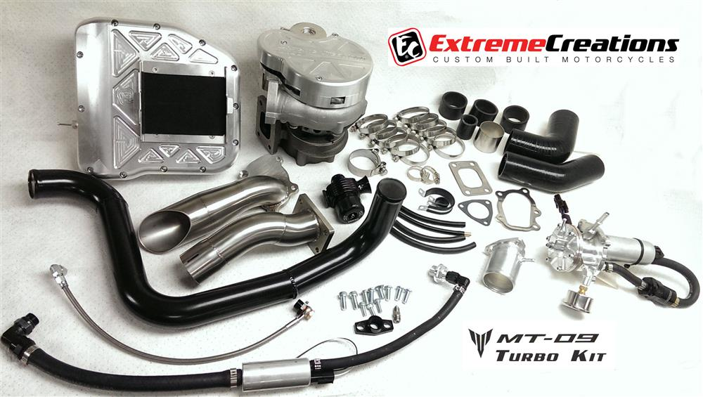 MT09 turbo kit